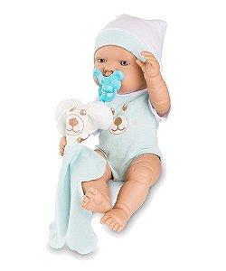 Boneco Bebezinho Real Azul - Roma