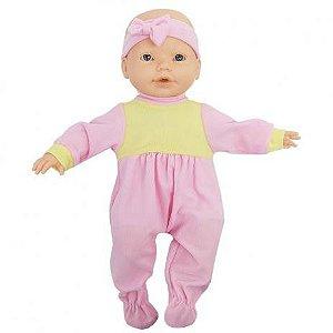 Boneca New Bebê Mania Baba - Roma