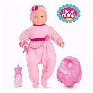 Boneca New Bebê Mania Xixi - Roma