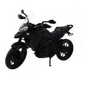 Moto Infantil Multi Motors - Pneus Borracha - Roma - Preto