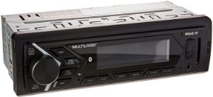 Som Automotivo Prime  Bluetooth LCD 4x45W RMS - Multilaser