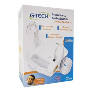 Inalador e Nebulizador G-Tech Nebcom