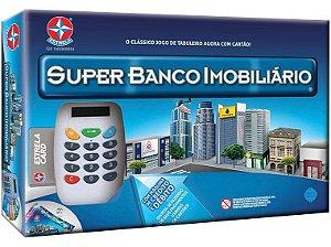 Jogo Super Banco Imobiliário Tabuleiro Com Maquininha - Estrela