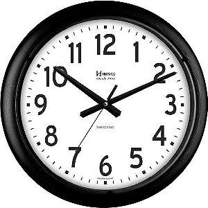 Relógio Parede Silencioso Grande Contínuo 40cm Herweg