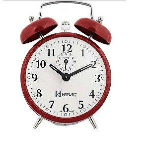 Despertador Herweg Vermelho Relógio