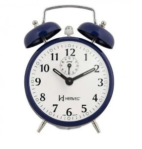Despertador Herweg Azul Relógio