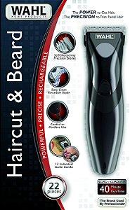 Máquina de Cortar Cabelo e Aparador Hair Cut & Beard Bivolt - Wahl 69639