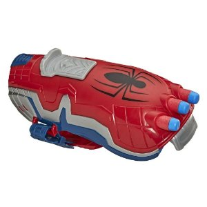 Lançador Nerf Power Moves Marvel Spider-Man Lança Teias - Hasbro