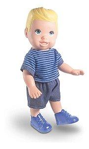 Boneco Menino Infatil Hair Boy Milk Skate De Dedo Ioio