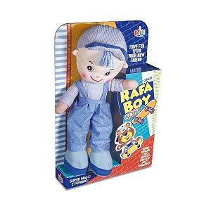 Boneco Coleção De Pano 45cm  Rafa Boy Soft Milk
