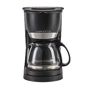 Cafeteira Elétrica Agratto Vetro Caffe 15 Xícaras Preto - 127V