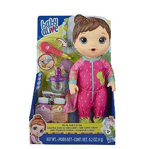 Boneca Baby Alive Aprendendo A Cuidar Morena - Hasbro