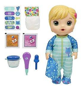 Boneca Baby Alive Aprendendo A Cuidar Loira - Hasbro