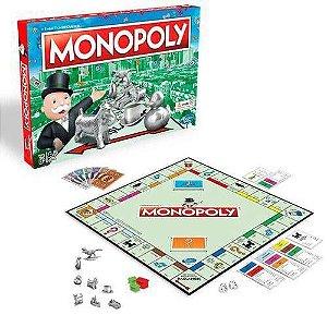 Jogo de Tabuleiro Monopoly Clássico Hasbro
