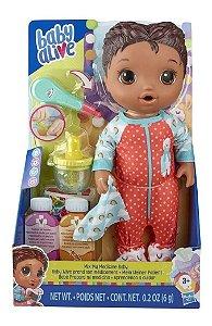 Boneca - Baby Alive - Aprendendo a Cuidar - Negra - Hasbro