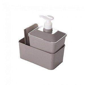 Kit Porta Detergente Quadrado B2 Plasútil