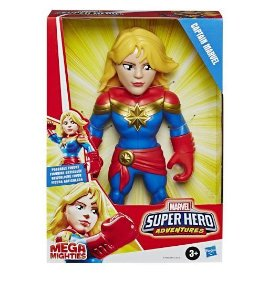 Boneca Super Hero Figura 10 Captain Marvel - Hasbro