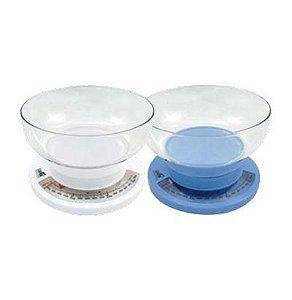 Balança de Cozinha 3kg Casita Azul