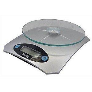 Balança Digital p/ Cozinha 5kg a Bateria - Casita