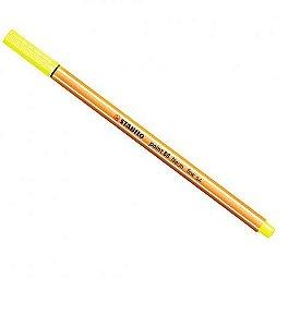 Caneta Stabilo Point Amarelo