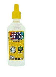 Cola Glitter Acrilex 35G Cor Cristal