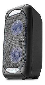 Caixa de Som Super Neon Multilaser, 800W, LEDs, TWS, Recarregável, Bluetooth®, - SP342 Bivolt