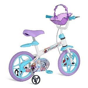 Bicicleta 12 Frozen II Bandeirante