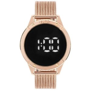 Relógio Euro Feminino Digital Rosé