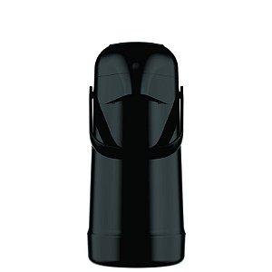 Garrafa Térmica Pressão Magic Pump 500ml Preta