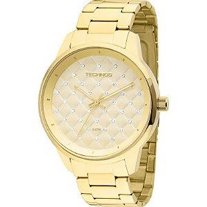 Relógio Technos Feminino Dourado – 2035MBW/4X