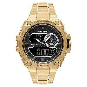 Relógio Mormaii Masculino Thunder Pro Dourado - MOZD1161/1D