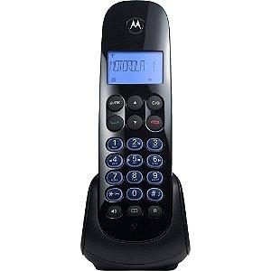 Telefone Digital Sem Fio Viva-voz Preto Moto 750 Se - Motorola