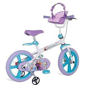 Bicicleta 14 Frozen II Bandeirante