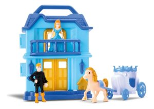 Casinha Princesa Snow Musical C/ Acessórios - Samba Toys
