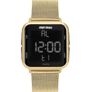 Relógio Digital Mormaii Unissex Dourado Wave – MO6600AH/8D