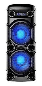 Caixa de Som Amplificada Multilaser Mini Torre SP380 - 900W