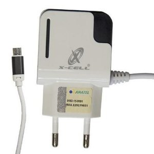 Carregador Ultra Rápido V8 3.1A 2 Entradas USB - XC-V8-UR.11 - X-Cell