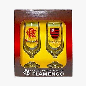 Taça Cerveja Floripa 300ml Flamengo C/2 Allmix