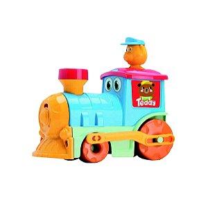 Brinquedo Infantil Trem Teddy's Train - Alegria Do Seu Bebê