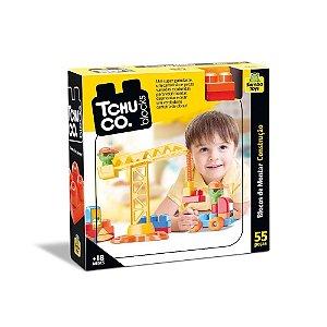 Blocos de Montar Construção 55 Peças Samba Toys Tchuco