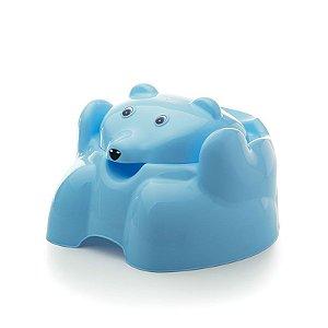 Troninho Adoleta Urso Azul - Cajovil