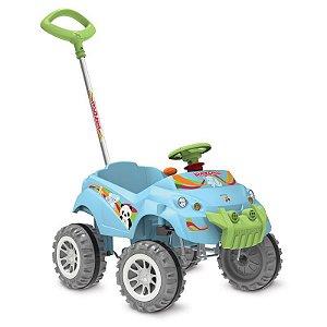 Carrinho Smart de Passeio e Pedal - Baby Cross - Azul - Bandeirante