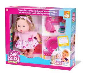 Boneca Bee Baby Xixi - Bee Toys