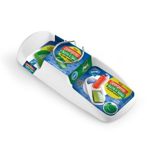 Porta Detergente, Bucha E Sabão Com Grelha Arthi