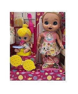 Bonecas Papinha Sapeca - Baby's Collection - Super Toys