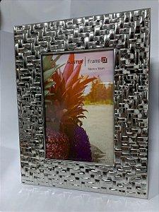 Porta Retrato De Metal Entrelaçado 15CM X 20CM - Master
