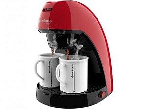 Cafeteira Single Colors 2 Xícaras Cadence 127V - Vermelha