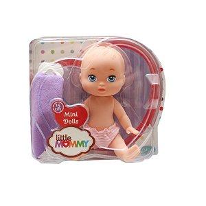 Boneca Mini Little Mommy Soninho Pupee