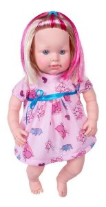 Boneca Charlotte Com Acessorios Pupee Brinquedos