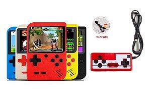 Mini Game Box Com 2 Controles 2 Jogadores Com 400 Jogos